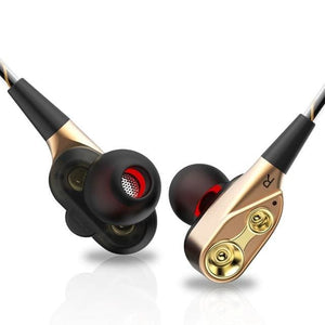 AIPAL V3 Wired earphone High bass dual drive stereo In-Ear Earphones With Microphone Computer.