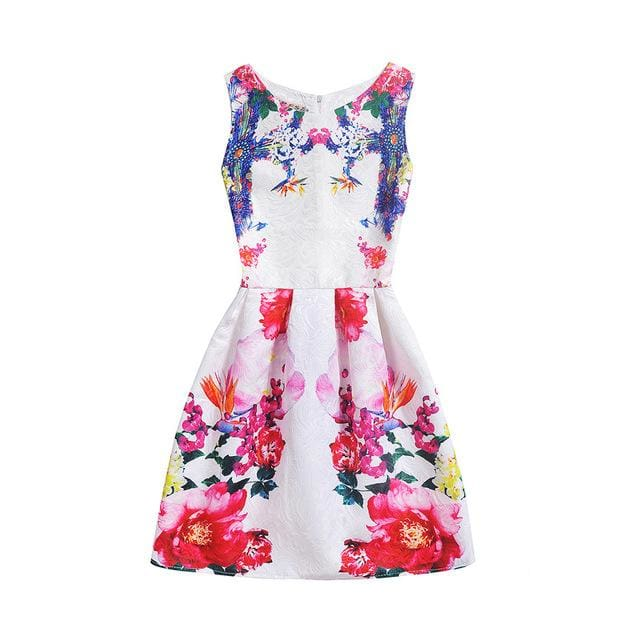Amuybeen 2017 Wedding Sundress Summer Dress For Girls Kids Clothes Teenagers Baby Girl Flower Party - MBMCITY