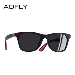 a997160b11 ... Aofly Brand Design New 2018 Classic Polarized Sunglasses Men Driving  Tr90 Frame Sun Glasses Male C3Gray