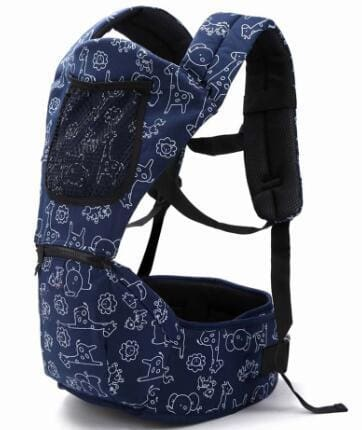 Baby Carrier 4-6 Months Front Carry Portabebes Manduca Cotton&polyester New Baby Infant Newborn Dark Blue / Russian Federation / Onesize