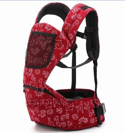 Baby Carrier 4-6 Months Front Carry Portabebes Manduca Cotton&polyester New Baby Infant Newborn Red / Russian Federation / Onesize