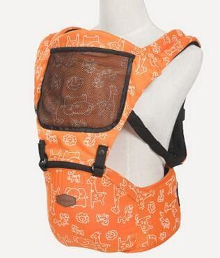 Baby Carrier 4-6 Months Front Carry Portabebes Manduca Cotton&polyester New Baby Infant Newborn Orange / Russian Federation / Onesize