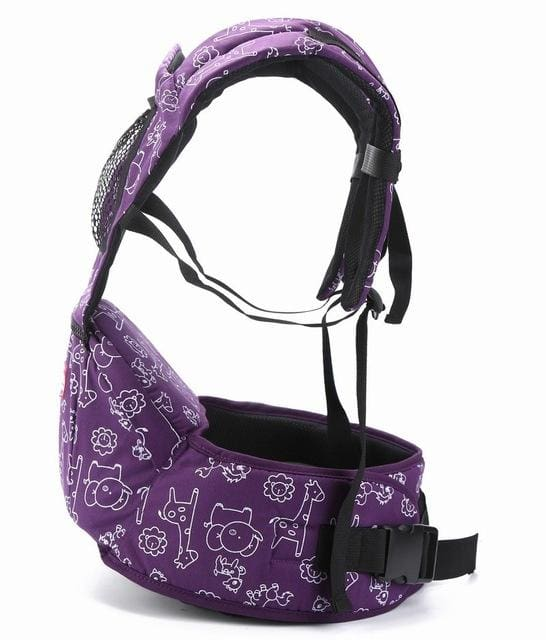 Baby Carrier 4-6 Months Front Carry Portabebes Manduca Cotton&polyester New Baby Infant Newborn Purple / Russian Federation / Onesize