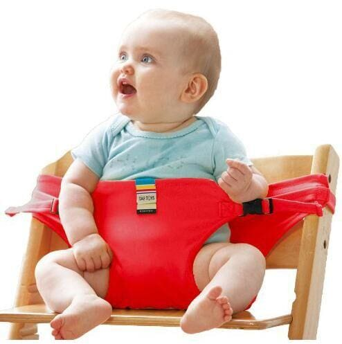Baby Chair Portable Infant Seat Product Dining Lunch Chair/Seat Safety Belt Feeding High Chair - MBMCITY