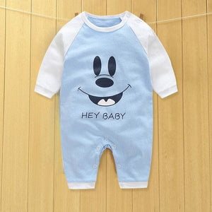Baby Clothes New Cute Cotton Winter Newborn/infantil/bobysuit/kids Rompers Love Animals Ivory / 3M