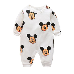 Baby Clothes New Cute Cotton Winter Newborn/infantil/bobysuit/kids Rompers Love Animals