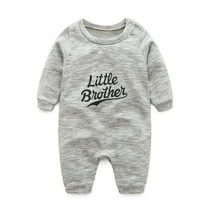 baby clothes new hot 100% cotton winter and autumn baby rompers baby clothing Silver / 3M
