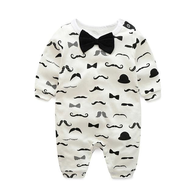 baby clothes new hot 100% cotton winter and autumn baby rompers baby clothing Gold / 3M