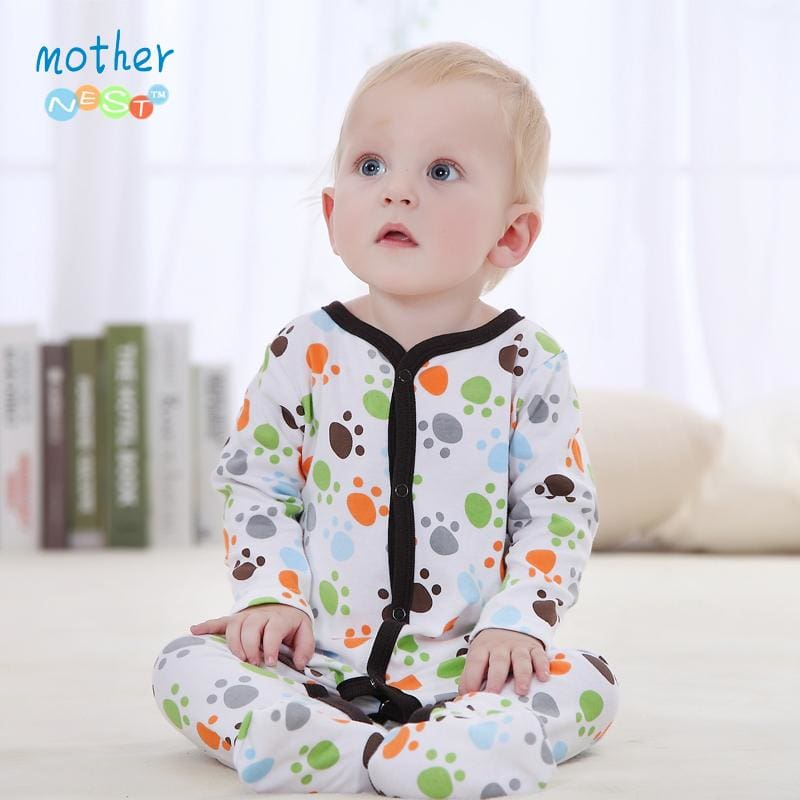 9b538d605075 Baby Clothing 2016 New Baby Girl Newborn Clothes Romper Long Sleeve ...
