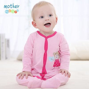Baby Clothing 2016 New Baby Girl Newborn Clothes Romper Long Sleeve Jumpsuits Infant Product Baby 83136 / 3M