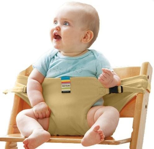 Baby dinning lunch chair/seat safety belt/portable infant seat/dinning chair cover/bebe seguridad - MBMCITY
