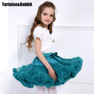 Baby Girls Tutu Skirt Fluffy Children Ballet Kids Pettiskirt Baby Girl Skirts Princess Tulle Party