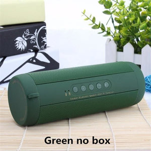 Best Wireless Bluetooth Speaker Waterproof Portable Outdoor Mini Bicycle Speaker Column Box China / Green No Box