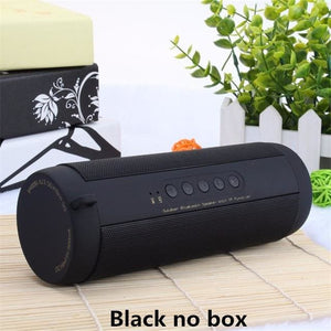 Best Wireless Bluetooth Speaker Waterproof Portable Outdoor Mini Bicycle Speaker Column Box China / Black No Box