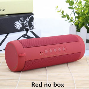 Best Wireless Bluetooth Speaker Waterproof Portable Outdoor Mini Bicycle Speaker Column Box China / Red No Box