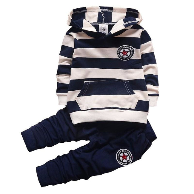 BibiCola spring autumn new fashion baby boys girls hoodies sport suit Children clothing set toddler - MBMCITY