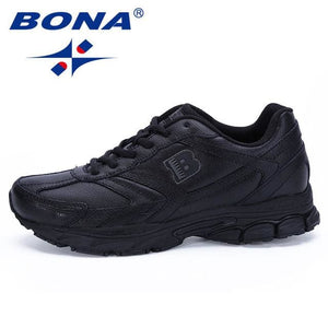 BONA New Arrival Classics Style Men Running Shoes Lace Up Sport Shoes Men Outdoor Jogging Walking