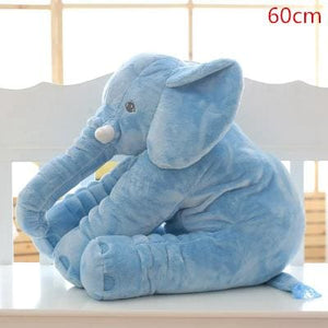 BOOKFONG 1PC 40/60cm Infant Soft Appease Elephant Playmate Calm Doll Baby Appease Toys Elephant