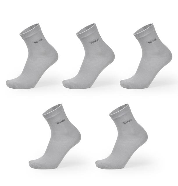 Brand New Men Bamboo Fiber Socks High Quality Casual Breatheable Anti-Bacterial Man Long Sock 5pairs - MBMCITY