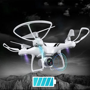 Camera Drones with Wifi FPV HD Adjustable Camera Altitude Hold One Key Return/Landing/ Off Headless - MBMCITY