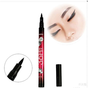 Charming Eyeliner For Women Makeup Black Waterproof No Stainging Liquid Make Up Lash Beauty - MBMCITY