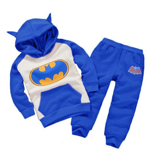 Children Clothing Sets Spring Autumn Baby Boys Girls Clothing Sets Fashion Hoodie+Pants 2 Pcs Suits As Picture 4 / 18M