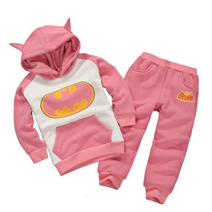 Children Clothing Sets Spring Autumn Baby Boys Girls Clothing Sets Fashion Hoodie+Pants 2 Pcs Suits As Picture 5 / 18M