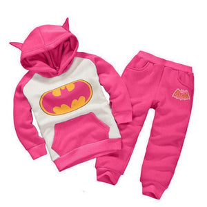 Children Clothing Sets Spring Autumn Baby Boys Girls Clothing Sets Fashion Hoodie+Pants 2 Pcs Suits As Picture 3 / 18M