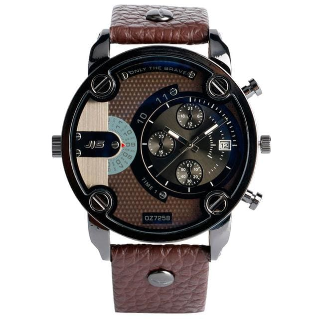 Christmas Gift Modern Large Size Watches Men Date Quartz Watch Sports Wristwatch Military Luxury