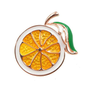 CINDY XIANG 2 Colors Choose Enamel Lemon Brooch Unisex Women Men Brooch Pin Cute Fruit Brooches