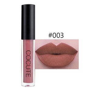Cocute Matte Lipstick Waterproof Makeup Lip Gloss Liquid Lip Stick Top Quality Long Lasting Lipgloss 2