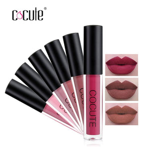 Cocute Matte Lipstick Waterproof Makeup Lip Gloss Liquid Lip Stick Top Quality Long Lasting Lipgloss