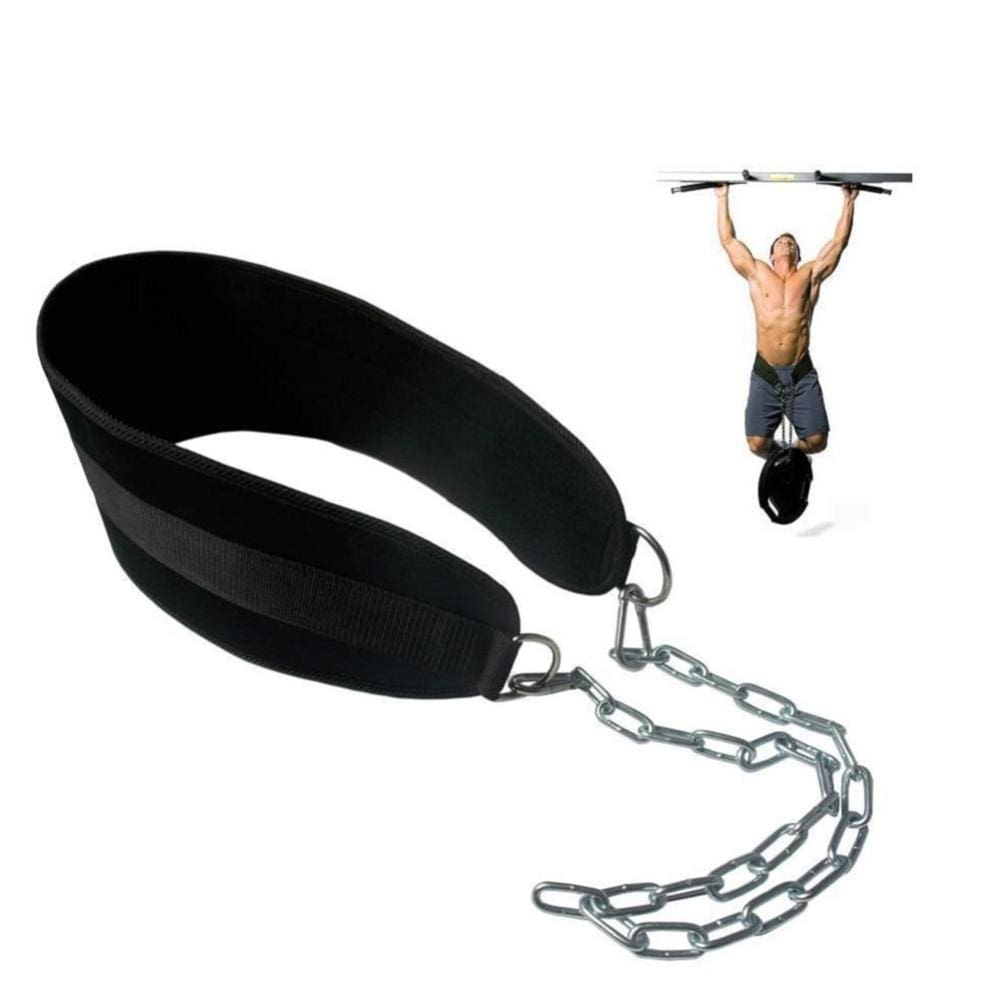 Crossfit Weight Lifting Belt Adjustable Lifting Weights Musculation Bodybuilding Dip Belt Fitness - MBMCITY