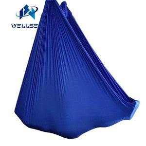 Customized Length -- Aerial Flying Yoga Hammock Fabric Swing Trapeze Anti-Gravity Inversion Aerial Light Green