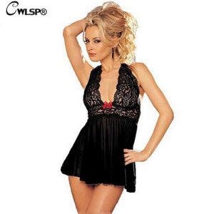 Women Sexy Lingerie Corset With G-string 2 Piece Set Dress Underwear Sleepwear Free.