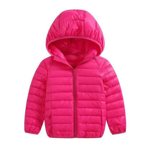 DIL'UFEN  brand 90% duck feather Ultra light Boys Girls children's  Autumn Winter jackets Baby down - MBMCITY