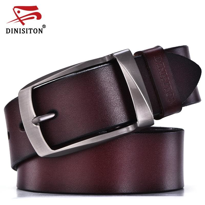 DINISITON designer belts men high quality genuine leather belt man fashion strap male cowhide belts