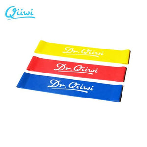 Dr.Qiiwi (3Pcs/Set) Rubber Loop Bands Set Training Workout Resistance Bands for Sports Exercise