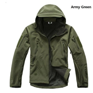 Dropshipping Lurker Shark Skin Softshell V5 Military Tactical Jacket Men Waterproof Coat Camouflage