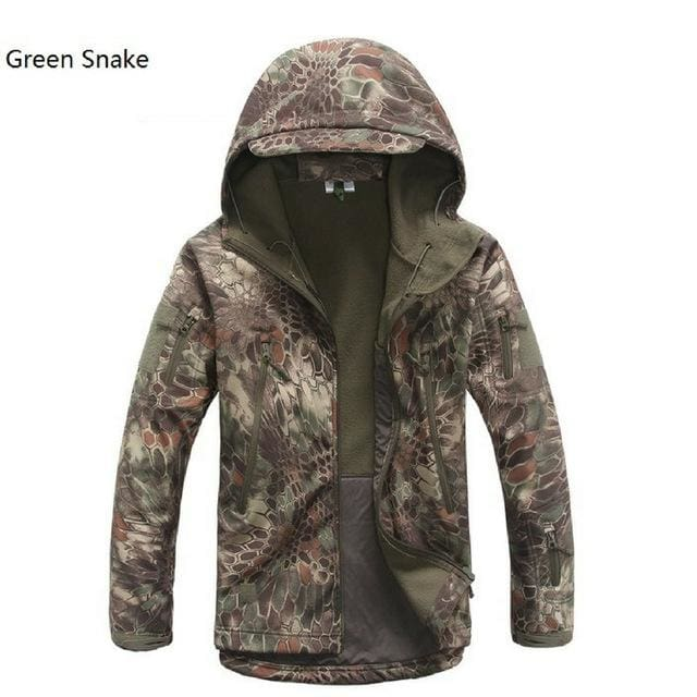 Dropshipping Lurker Shark Skin Softshell V5 Military Tactical Jacket Men Waterproof Coat Camouflage - MBMCITY