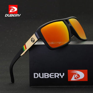 DUBERY 2017 Men's Polarized  Sunglasses Aviation Driving Sun Glasses Men Women  Sport  Fishing
