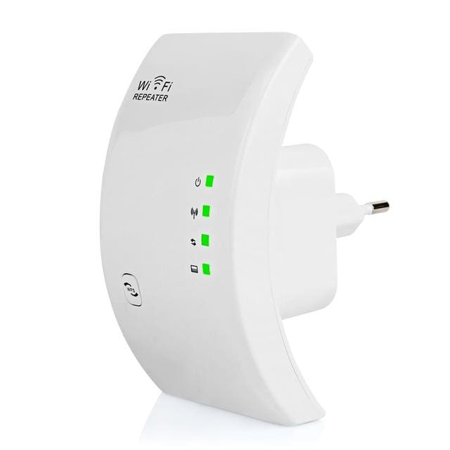 EASYIDEA Wireless WIFI Repeater 300Mbps Network Antenna Wifi Extender Signal Amplifier 802.11n/b/g - MBMCITY