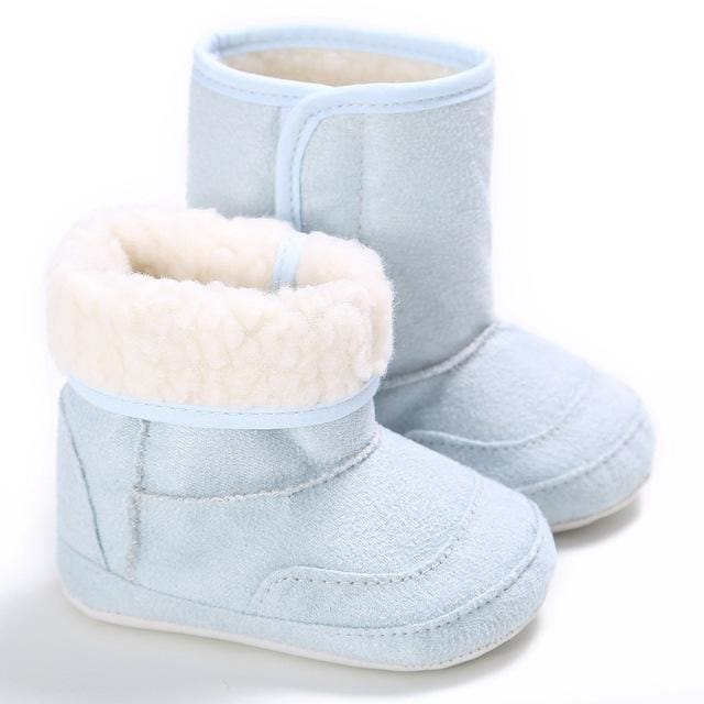 E&Bainel New Winter Super Warm Newborn Baby Girls First Walkers Shoes Infant Toddler Soft Rubber
