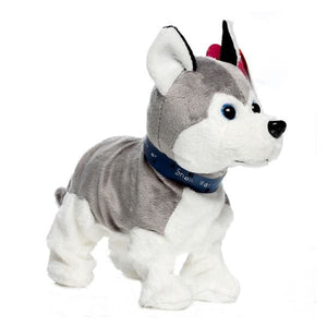 Electronic Pets Sound Control Robot Dogs Bark Stand Walk Cute Interactive Dog Electronic Husky