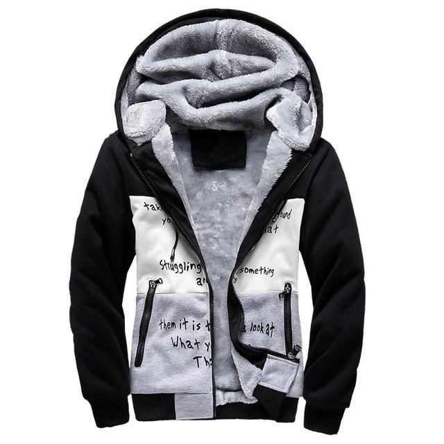 European Fashion Bomber Mens Vintage Thickening Fleece Jacket Autumn Winter Designer Famous Brand - MBMCITY