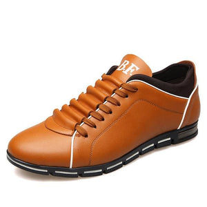 Fashion Big Size Genuine Leather Men Shoes, High Quality Men Casual Shoes, Brand Shoes Men - MBMCITY