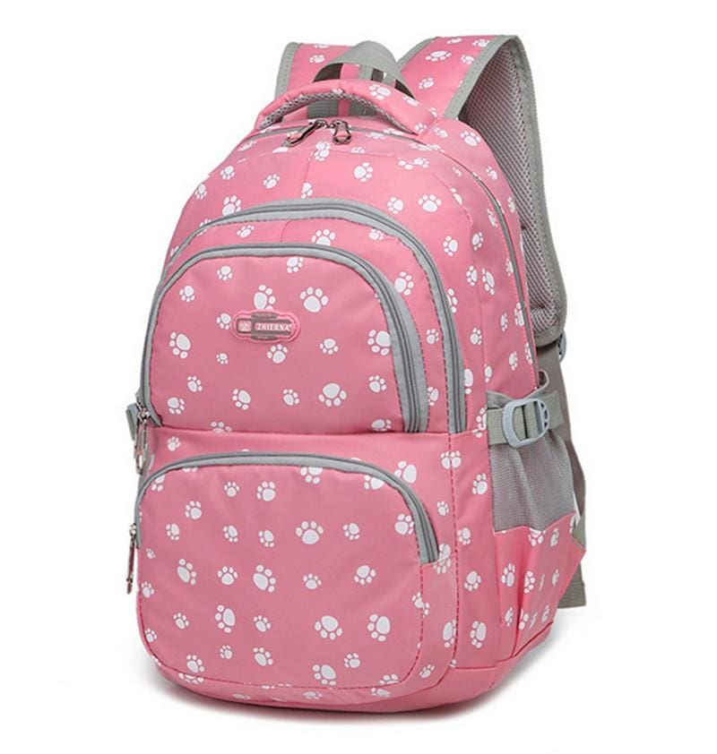 Fashion kids book bag breathable backpacks children school bags women leisure travel shoulder