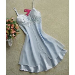 Fashion Sexy Women Lingerie Nightgown Casual Ladies Sleepwear Nightdress Camisola Vestidos Femininos