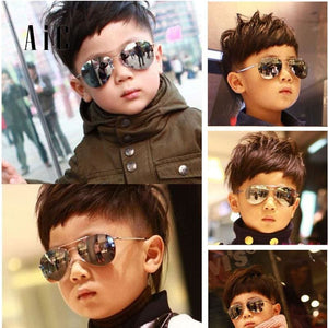 Fashion Sunglasses Kids Boys Girl Piolt Style Children Sunglasses Ray Uv Protection Baby Sun Glasses
