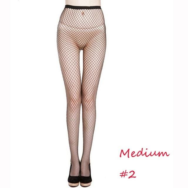 Fashion Women's Sexy Net Fishnet Body Stockings Fishnet Pattern Pantyhose Party Tights Elastic